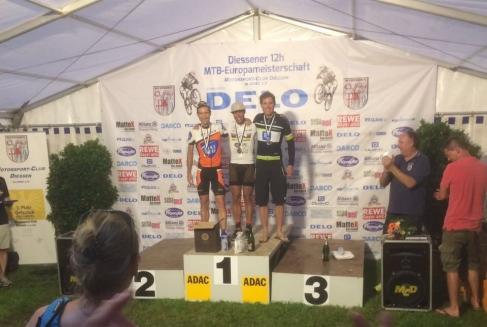 Platz 2 12h MTB Europameisterschaft