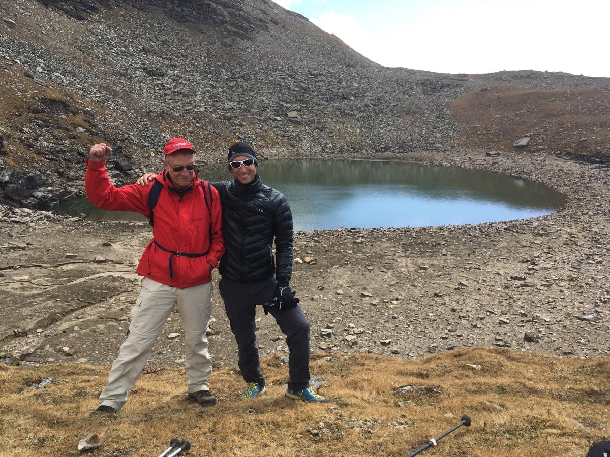 Trek zum heiligen Lake Brighu(4.270hm)