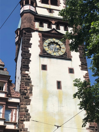 Kontrollstelle Martinstor Uhr