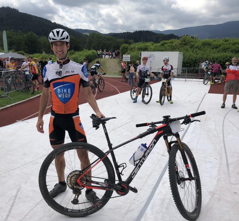 Ziel Rekalibrierung / Black Forest Ultra Bike MarathonSpontanstart