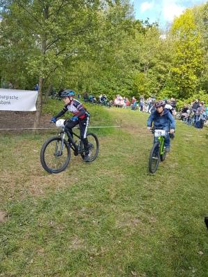 Moritz beim Kidsrace