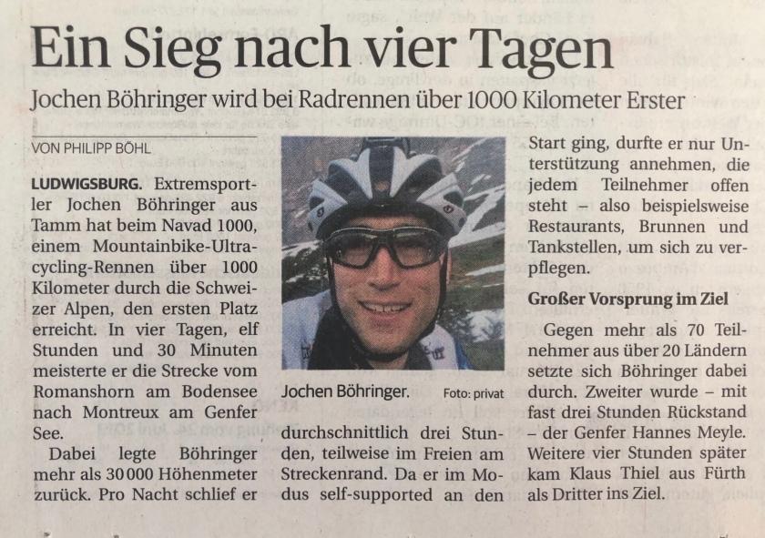 Ludwigsburger Kreiszeitung Navad 1000